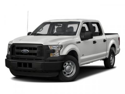 "2016 Ford F-150 4WD SuperCrew 145"" XLT (Oxford White)"