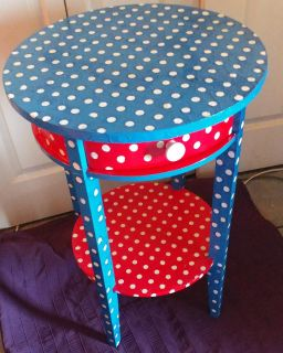 Hand Crafted Children's Accent Table