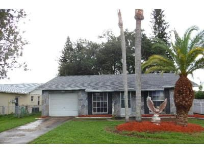 2 Bed 1 Bath Foreclosure Property in New Port Richey, FL 34655 - Martell St