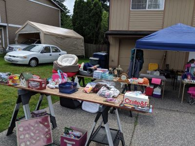 Garage Sale - Bothell 11105 NE154th St, 98011