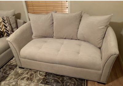 **MINT COND** Sofa, chaise lounges, and ottoman