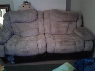 Ok condition couch/ chairs