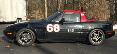 1993 Miata (1.8L) street legal, caged, Time Trial/Autocross/