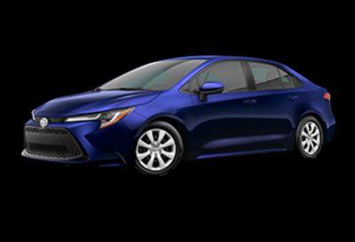 2020 Toyota Corolla LE (Blue Print)