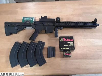 For Sale: AR-15 cambered in 7.62x39mm