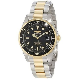 "Brand New Invicta men's ""pro-diver collection"" two-tone watch with Gift Box"