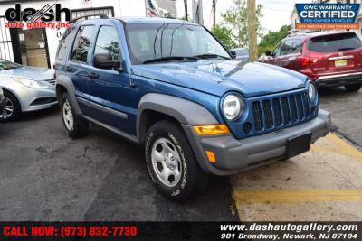 2005 Jeep Liberty Sport (Atlantic Blue Pearl)