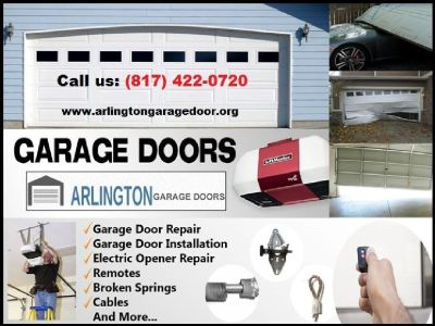 Call (817) 422-0720 for A+ Rated Garage Door Repair Services | Arlington 76006 TX
