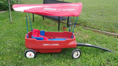 Radio Flyer Wagon with Canopy and More