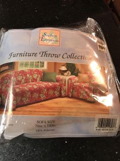 Sofa throw in a beautiful blue gray color - see other photo. Brand New!