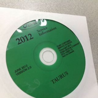 Buy 2012 Ford TAURUS Workshop Repair Service Shop Manual CD NEW motorcycle in Sterling Heights, Michigan, United States, for US $159.99