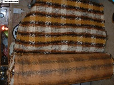 Riviera Motors NOS seat fabic upholstery