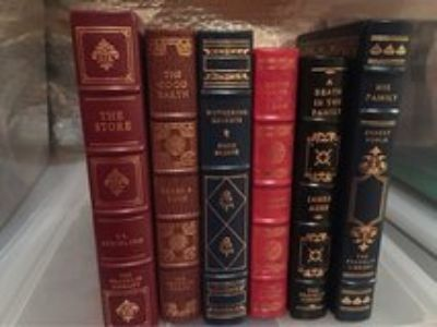 Franklin Mint leather books