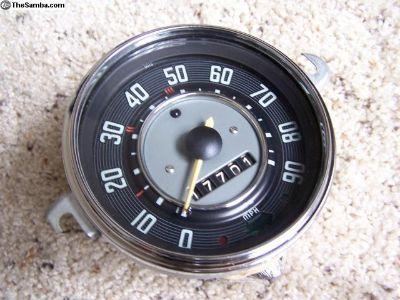 1966 Speedometer, Restored.