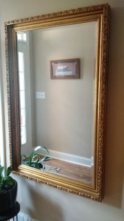 "BEAUTIFUL LARGE 36""X54"" BEVELED MIRROR"