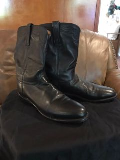Black 11D Lucchese 2000