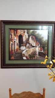 Beautiful french scene picture. Purchased at Kirklands