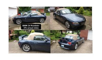 2003 Roadster BMW Z4 3.0i Low Miles 37k, May TRADE