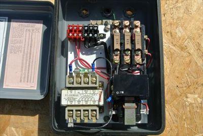 Rockwell 3-Phase motor starter