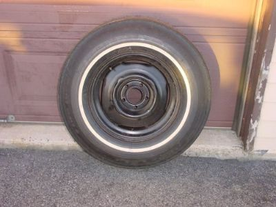 Buy Vintage Goodyear Power Cushion Factory Spare From 1969 Chrysler 300 8.55-15 motorcycle in Hamburg, Pennsylvania, United States, for US $299.99