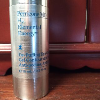 Perricone MD Elemental Energy De-Puffing eye gel. Costs $75 normally. On sale for $55. Brand new!