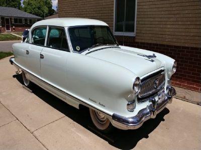 1954 Nash Ambassador Custom 4-Door Sedan