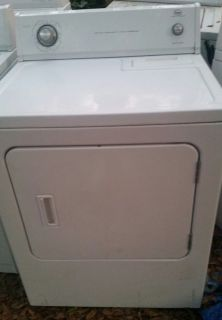 Whirlpool heavy duty super capacity dryer