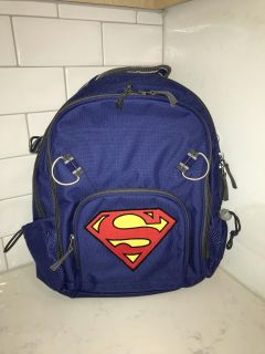 Superman Backpack from Pottery Barn Kids