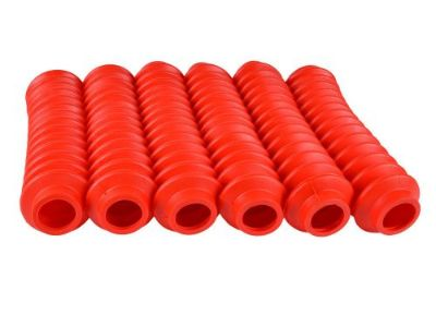 Purchase 6 RED Shock Boots for Jeep Universal Off Road Vehicles - Fits most Shocks motorcycle in Ogden, Utah, United States, for US $26.99