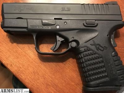 For Sale: Springfield XDS in 9mm