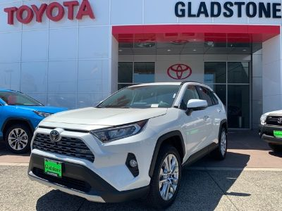 2019 Toyota RAV4 (Blizzard Pearl)