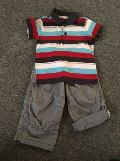 Boys 2 Piece Outfit, Size 12 Months