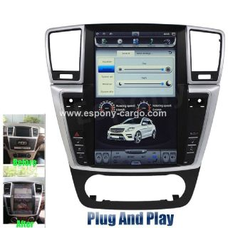 "12.1""Tesla style Screen GPS Navigation for Mercedes-Benz ML300 350"
