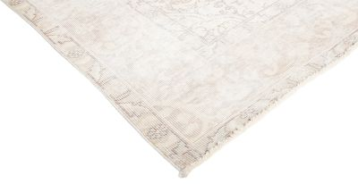 """Vintage, Hand Knotted Area Rug - 6' 5"""" x 9' 4"""""""