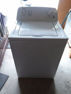 Roper washing machine and Hotpoint dryer only 6 months old