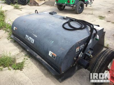 Woods Skid-Steer Sweeper Attachment