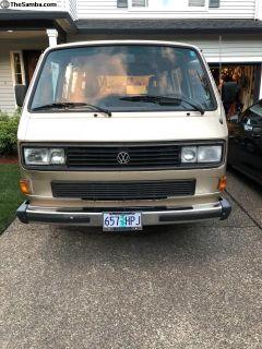 1987 VW Vanagon GL -
