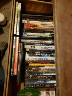 Tons of DVD movies