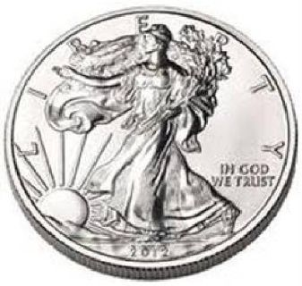 2012 SILVER EAGLE 1oz .999 SILVER *MS HIGH GRADE* SILVER EAGLE CAME OUT OF SAFE