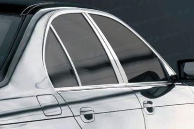 Purchase SES Trims TI-P-252 98-03 BMW 5-Series Door Pillar Posts Window Covers Trim 6 Pcs motorcycle in Bowie, Maryland, US, for US $63.70
