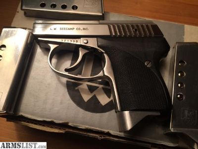 For Trade: Seecamp 32 acp with mags and ammo Milford CT