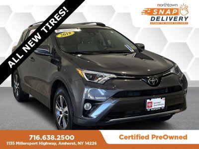2018 Toyota RAV4 XLE (Magnetic Gray)