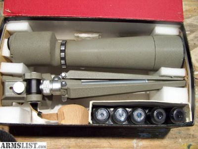 For Sale: Spotting Scope