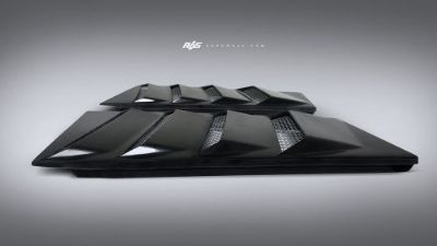 Sell Renown Carbon Louvered Rear Engine Vents - Lamborghini Gallardo motorcycle in Vancouver, Washington, United States, for US $1,199.00