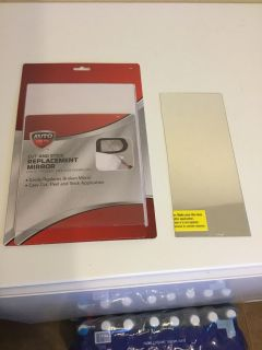 Cut and stick car mirror replacement