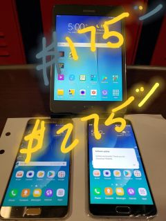 2 Samsung note 5's Samsung tab A Tablet