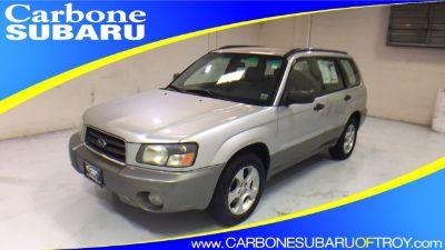 2004 Subaru Forester XS (gray)