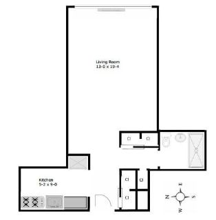 $5580 1 apartment in Midtown-East