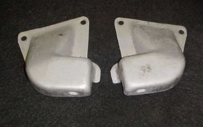 Find ORIGINAL 64 65 66 67 SBC CHEVELLE & EL CAMINO ENGINE FRAME MOUNT BRACKETS 327 V8 motorcycle in Fort Wayne, Indiana, United States, for US $69.00