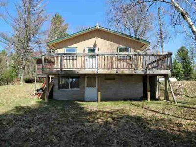 4743 Flowage Rd E Conover Two BR, In search of a fixer upper?